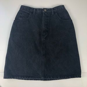 Vintage Guess Georges Marciano Black Skirt